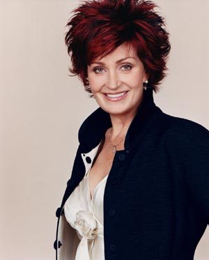 Sharon Osbourne French Fashions