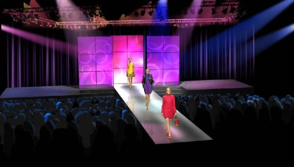 Runway fashion show french fashions for Runway fashion show video